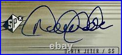 DEREK JETER Auto 2000 Upper Deck SPX Signatures PSA 10 1995 1996 Yankees RARE