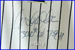 DEREK JETER Autographed Yankees RARE Jersey 3000th Hit Inscription HOF Steiner