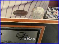 DEREK JETER & CAL RIPKEN 25X21 RARE Autographed Steiner & MLB COA-ED # 112/500