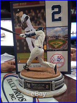 DEREK JETER McFarlane Resin Statue 15/250 MLB Super RARE