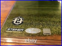 DEREK JETER STEINER SPORTS 8x10 FINAL GAME RARE AUTOGRAPH COA STICKER XMAS GIFT