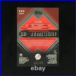 DEREK JETER YANKEES RARE 2006 TOPPS FINEST BLUE XFRACTOR #125 SERIAL #d 125/150
