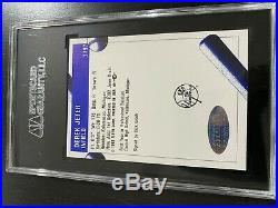 DEREK Jeter signed autographed auto 1992 Pro Cards Gulf Coast RARE SCG Steiner