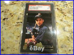DEREK Jeter signed autographed auto card Rookie 1993 Stadium Club Murphy RARE