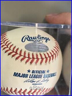 DEREK SANDERSON JETER Signed Autographed Baseball (full name) STEINER VERY RARE