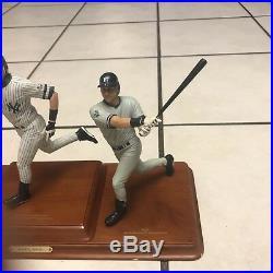 Danbury Mint Derek Jeter rare 3 Figurine set GREAT CONDITION