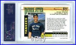 Derek Jeter1993 Bowman #511 Rare Psa-10 Gem-mt Hot Mlb Baseball Rookie Rc Card