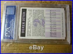 Derek Jeter 1992 Little Sun high school #2 PSA 9 mint RARE 3151
