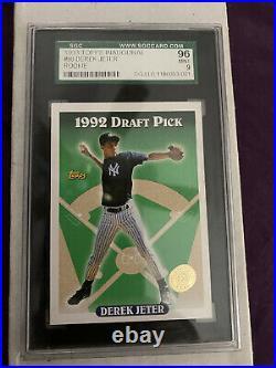 Derek Jeter 1993 Topps Rc Psa 9 Inaugural Colorado Rockies Very Rare Card