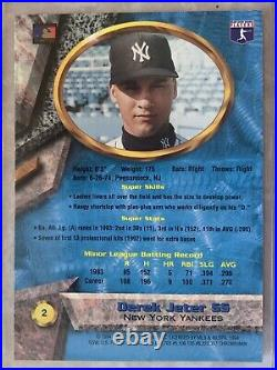 Derek Jeter 1994 Bowman Best #2 Blue REFRACTOR RC Very Rare