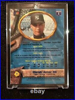 Derek Jeter 1994 Bowmans Best Blue Refractor Rookie #2 Very Rare Yankees