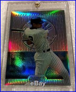 Derek Jeter 1995 Bowman's Best Blue Refractor Rookie #1 Very Rare Yankees
