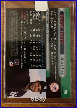 Derek Jeter 1996 Bowman Best Gold Refractor #79 Rc Rookie Mint! HOF Rare