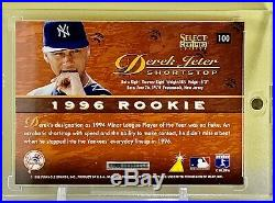 Derek Jeter 1996 Select Certified Edition Red Rookie Card #100 Yankees Rare Red