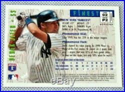 Derek Jeter 1996 Topps Finest #92 Phenoms REFRACTOR Rookie RC Rare