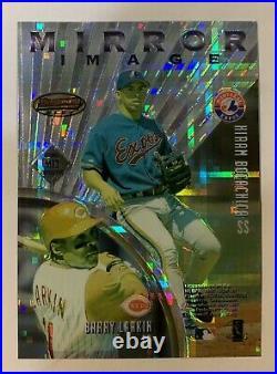Derek Jeter 1997 Bowman Best #MI1 Mirror Image INVERTED ATOMIC REFRACTORRARE