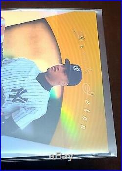 Derek Jeter 1997 Pinnacle Certified Mirror Gold Sp Super Rare Yankees Hof