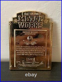 Derek Jeter 1997 Pinnacle X-Press Metal Works #5 of 20 GOLD 42 of 200 RARE HOF