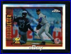 Derek Jeter 1997 Topps Chrome Refractor #7 (yankees) Rare Early Refractor