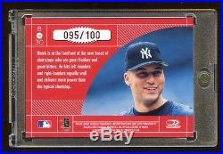 Derek Jeter 1998 Donruss Elite #d /100 Master Craftsmen Rare Future Hof Yankees