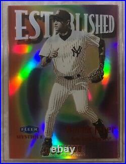 Derek Jeter 1999 Fleer MYSTIQUE #2 ESTABLISHED Serial #d /100 Very RARE