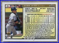 Derek Jeter 1999 Topps Chrome #85 REFRACTOR Very Rare