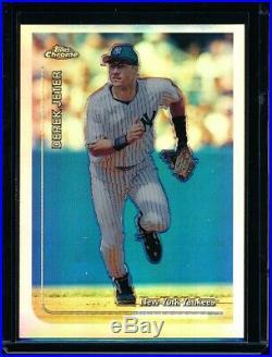 Derek Jeter 1999 Topps Chrome Refractor #85 (yankees) Rare Early Refractor
