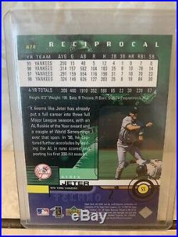 Derek Jeter 1999 UD Ionix Techno RECIPROCAL #'ed 23/100-Extremely RARE