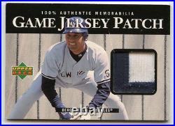 Derek Jeter 2000 Upper Deck Game Jersey Patch #P-DJ Yankees RARE! KCC381