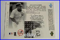 Derek Jeter 2000 Upper Deck Sp Auto Yankees Autograph Rare Nr