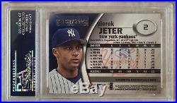Derek Jeter 2001 E-X #2 Essential Credentials Now PSA 10! Pop 8 RARE