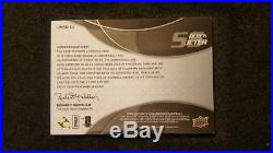 Derek Jeter 2009 Ultimate Collection Jersey # Autograph 2/22 Auto Patch Ud Rare