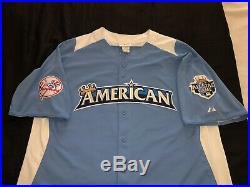 Derek Jeter 2012 All Star Jersey New York Yankees Un Signed Hard 2 Find Rare Hof