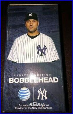 Derek Jeter 2013 Bobblehead SGA 7/8/2013 NYY Extremely Rare Yankee Stadium HOF