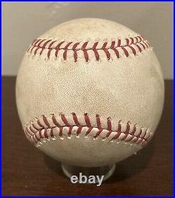 Derek Jeter 2014 Final Game Used Baseball Rare GU Not Signed HOF Farewell