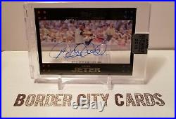 Derek Jeter 2018 Topps Clearly Authentic AUTO SSP 10/15 #CAR-DJ Yankees RARE