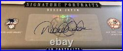 Derek Jeter Autograph 2005 Upper Deck Portraits, 8x10, Super Rare UDA Jeter Auto