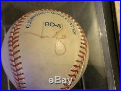 Derek Jeter Autographed Baseball JSA LOA 2020 HOF Class Signed Twice 1/1 Rare
