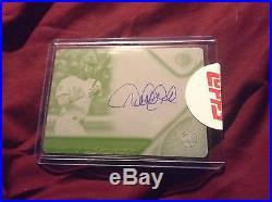 Derek Jeter Baseball Cards Autograph Topps Tribute 1/1 Printing Plate Rare NMMT