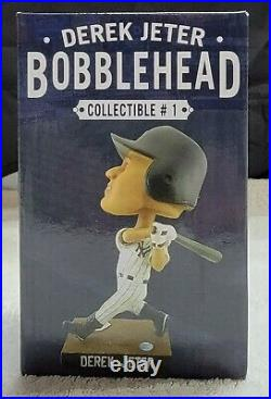 Derek Jeter Bobblehead SGA 7/8/2013 NYY Rare Yankee Stadium. HOF Free Shipping