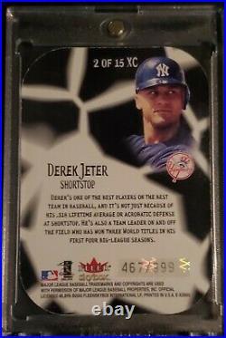 Derek Jeter EX-2000 EX-EXCEPTIONAL DIE CUT! 467/999! RAREMINT