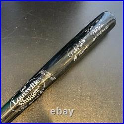 Derek Jeter Mr. November Signed Inscribed Game Model Baseball Bat JSA COA RARE