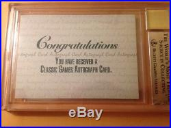 Derek Jeter N. Y. Yankee Graded Rookie Numbered Autograph Signed Card Rare Gem