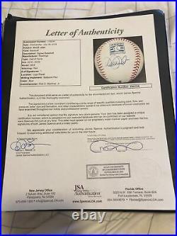 Derek Jeter New York Yankees Autographed HOF Baseball JSA Certified Rare