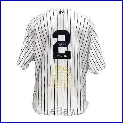 Derek Jeter Ny Yankees Uda Autographed Mr. November Jersey Le 19/27 Rare