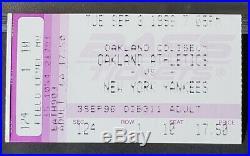 Derek Jeter Rookie Vintage Signed 3X5 Index Card PSA/DNA RARE 1996 AUTO + Ticket