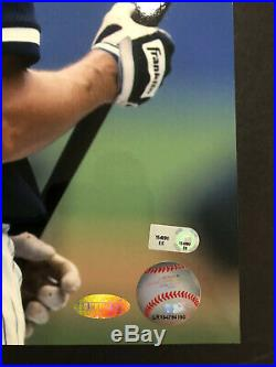 Derek Jeter Signed 11x14 Photo Steiner & MLB Hologram Extremely Rare Image