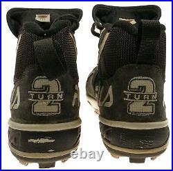 Derek Jeter Signed 1996 Rookie Season Game Used Baseball Cleats MEARS COA RARE