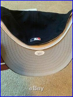 Derek Jeter Signed 1998 World Series Hat JSA Certified Autograph Rare Huge Auto
