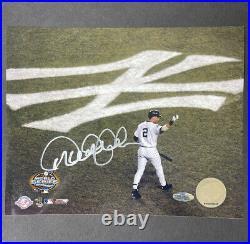 Derek Jeter Signed Autographed 8x10 New York Yankees Steiner Hologram RARE